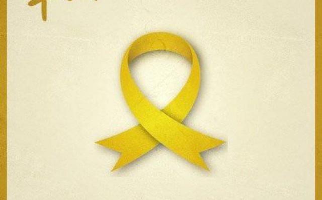 Žltá stužka vyjadruje nádej, že sa nezvestní vrátia domov