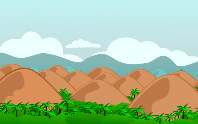Čokoládové kopce