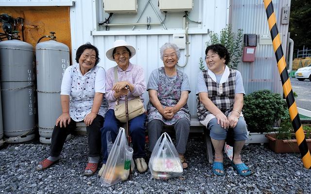 Senioři v Japonsku