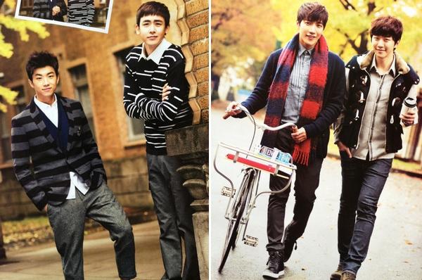 Wooyoung, Nichkhun, Jun. K a Junho