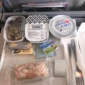 Jídlo na palubě Emirates. Pokaždé je jiné.