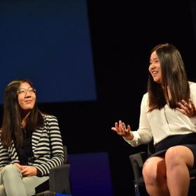 Miranda Wang a Jeanny Yao