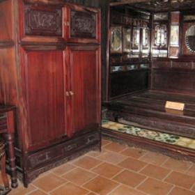 Některé místnosti mají původní vybavení