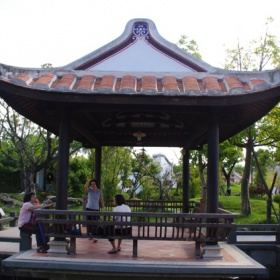 Pavilon zvaný Dům čajových milenců
